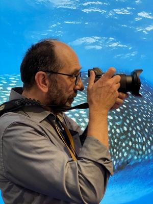 Unser Fotograf Peter Sutter / Foto Frank Pastors